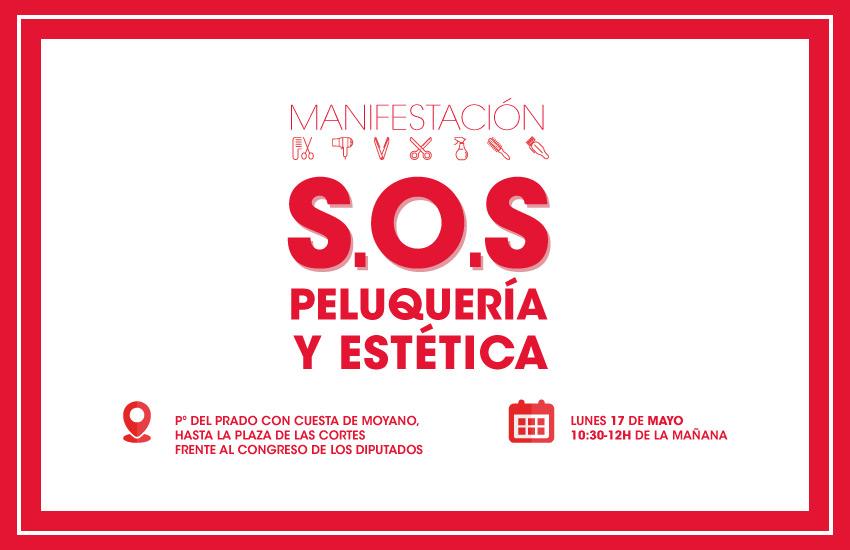 MANIFESTACIÓN CONGRESO DE LOS DIPUTADOS MADRID 17/05/21